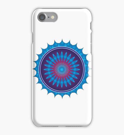 mobile mandala iPhone Case/Skin
