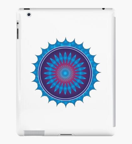 mobile mandala iPad Case/Skin