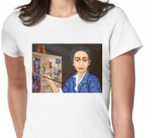 Maria Helena Vieira da Silva painting Womens Fitted T-Shirt