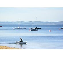 Boats and Bubbles Photographic Print