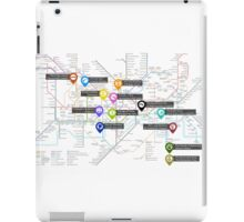Sherlock Tube Map iPad Case/Skin