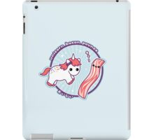 Unicorn Bacon Pounce iPad Case/Skin