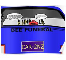 Bee Funeral Poster