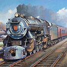 Penn Central pacific. by Mike Jeffries