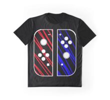 nintendo switch red & blue Graphic T-Shirt