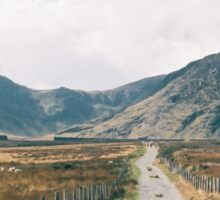 Welsh Mountains Sticker