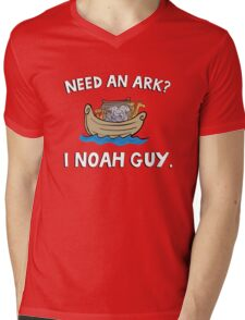 Need an Ark? I Noah Guy. Funny Quote. Mens V-Neck T-Shirt