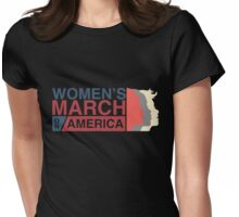 March On Washington D.C Womens Fitted T-Shirt