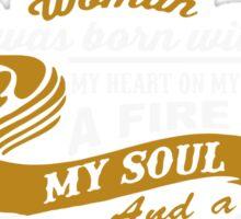 I'm an February women Sticker