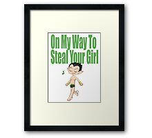 Namor on his Way Framed Print