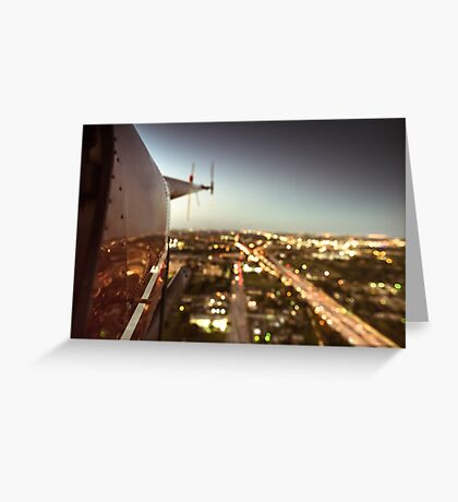 miami downtown Greeting Card