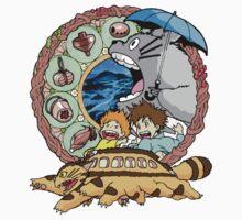 Totoro by xiaomian