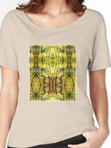 Abstract Yellow Trees Women's Relaxed Fit T-Shirt