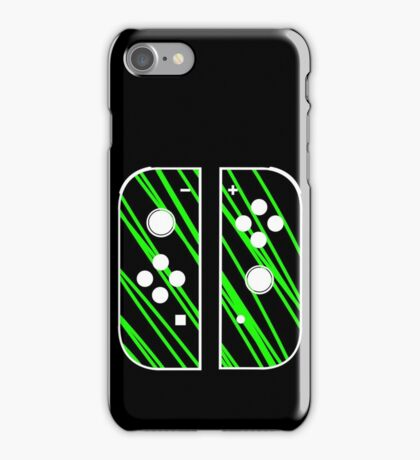 nintendo switch green iPhone Case/Skin