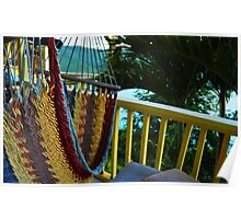 Hammock In the Breeze  Poster