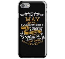 I'm a May women iPhone Case/Skin