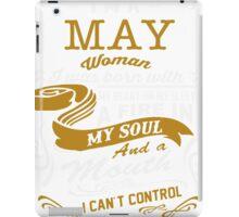 I'm a May women iPad Case/Skin