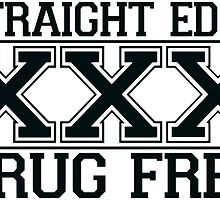Straightedge - Drug Free by Grace-Moxley