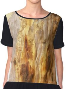 The Tree Bark Collection # 3 Chiffon Top
