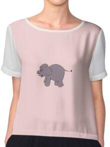 The Elephant's Child Chiffon Top