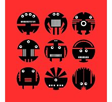 RED ROBOTS Photographic Print