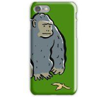 sad ape iPhone Case/Skin