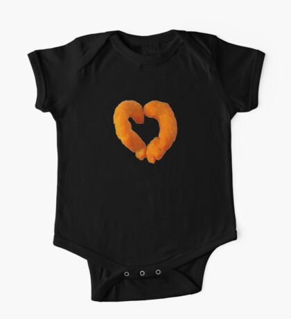 I heart Cheese Puffs One Piece - Short Sleeve