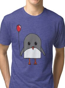 Happy Penguin Tri-blend T-Shirt