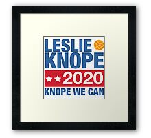 Knope We Can in 2020 Framed Print