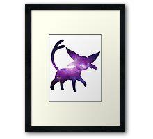Espeon used Pshychic Framed Print