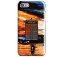 tardis night  iPhone Case/Skin