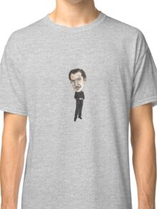 Vincent Price Inspired Horror Illustration  Classic T-Shirt