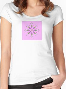Pink II Women's Fitted Scoop T-Shirt