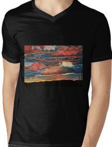 Arizona Sunset Mens V-Neck T-Shirt
