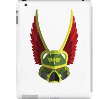 Dark Angel Helmet iPad Case/Skin
