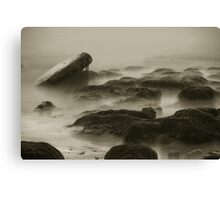 Elemental Rocks and Water. Canvas Print