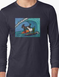 Surfing Goats Long Sleeve T-Shirt