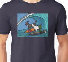 Surfing Goats Unisex T-Shirt