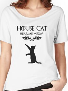 HEAR ME MEOW Women's Relaxed Fit T-Shirt