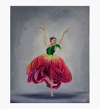 Introspection: Proud Tulip Ballerina  Photographic Print