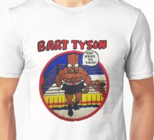 Bart Tyson//Black Bart as Mike Tyson Unisex T-Shirt