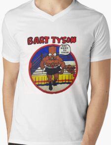 Bart Tyson//Black Bart as Mike Tyson Mens V-Neck T-Shirt