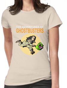 TinTin Ghostbusters Womens Fitted T-Shirt