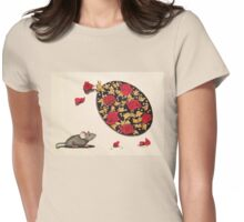 Smell the Roses Womens Fitted T-Shirt