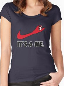 Its-a me Women's Fitted Scoop T-Shirt