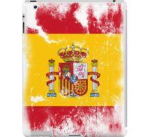 Flag of Spain iPad Case/Skin