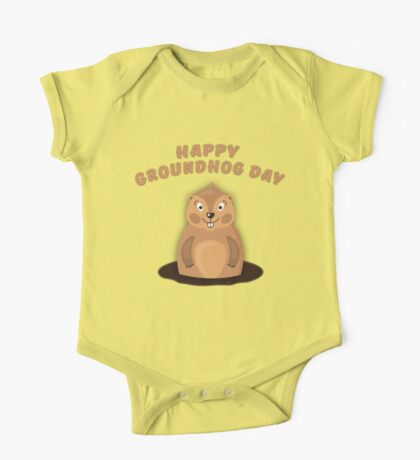 Cool Gift for Groundhog Day  One Piece - Short Sleeve