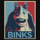 Jar Jar Binks : Hope by WonkyRobot
