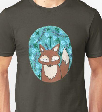 Moonlit Fox Unisex T-Shirt