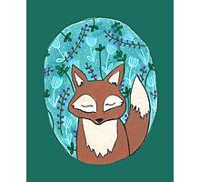 Moonlit Fox Photographic Print